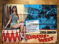 Circus-Welt (A)(A0-Plakat '64) - John Wayne / Rita Hayworth / Claudia Cardinale
