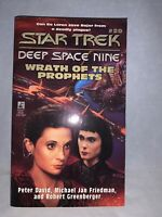 1997 Star Trek Deep Space Nine Wrath Of The Prophets #20 Paperback Novel