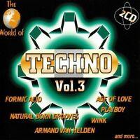 World of Techno 3 (1998) Formic Acid, Nature One, Technocat, Ramirez, W.. [2 CD]