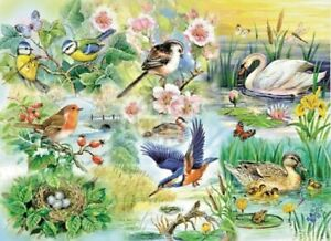 House of Puzzles HOP Feathered friends Big 250 Pc Jigsaw Puzzle New Sealed MC190