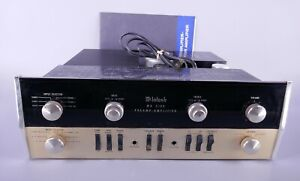 Original McIntosh MA5100 Preamplifier Amplifier As Is As Found Condition