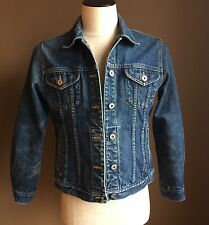 Vintage Eddie Bauer Denim Trucker Jean Jacket Women's Sz Small