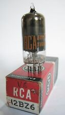 One 1961 Sylvania/RCA 12BZ6 radio tube - TV7B tested @ 60, min:31 (Date Code:MD)