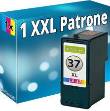 TINTE PATRONEN für LEXMARK Nr 37 XL X3650 X4650 X5650 X6650 X6675 Z2420 18C2180E