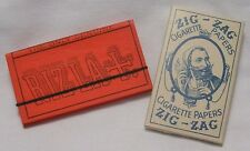 NEW VINTAGE ZIG ZAG & RIZLA+ CIGARETTE TOBACCO ROLLING PAPERS (1 each) EXCELLENT