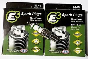 E3.46 E3 Premium Automotive Spark Plugs - 8 SPARK PLUGS Domestic