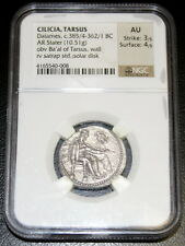 Cilicia Tarsus Datames c385/4-362/1 BC AR Stater 10.51g NGC AU 3/5 4/5
