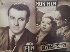 """MON FILM 1948 N 114 """" LES CONDAMNES """" avec GINETTE LECLERC et PIERRE FRESNAY"""