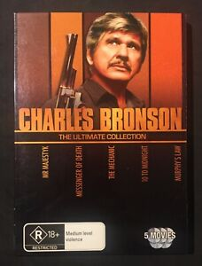 CHARLES BRONSON: THE ULTIMATE COLLECTION DVD (5 DISC SET) REGION 4 - LIKE NEW