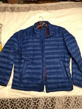 Tommy Hilfiger Packable Down Quilted Jacket Coat Mens XXL 2XL Blue