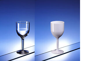 AIOS Premium Unbreakable Wine Glass 220ml modern look glasslike dishwasher safe