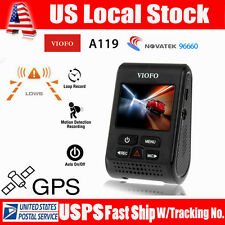 VIOFO Advanced A119 V2 Capacitor Novatek  HD1440p 160° Car GPS Dash Camera DVR