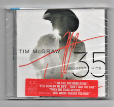 Tim McGraw 35 Biggest Hits CD Live Like You were Dying, Don't take the girl