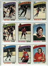 Hockey O Pee-Chee 1976 Cards Choose Upick from list 1-200