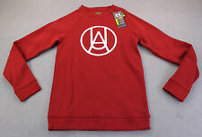 UNDER ARMOUR STORM WATER RESISTANT Mens RED CHARGED COTTON SWEATSHIRT NWT S  $65