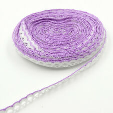 10 Yards Vintage Cotton Crochet Lace Trim Wedding Bridal Ribbon Sewing Craft DIY
