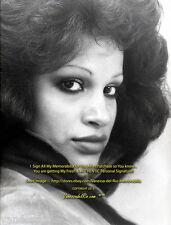 Vanessa del Rio PHOTO Very VINTAGE Me! EYES 1974 VERY RARE! Sign AFT BUY w/COA