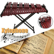 Wooden Key Xylophone Mallets Board Stand Musical Percussion Instruments 37 Sound