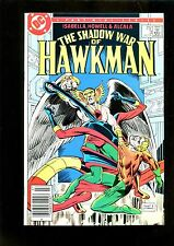 THE SHADOW WAR OF HAWKMAN (9.2) VS AQUAMAN ELONGATED MAN DC (b047)
