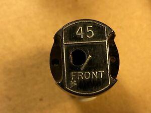 Vintage Magnavox Black Plastic 45 RPM Changer Adapter for Stacker Turntable