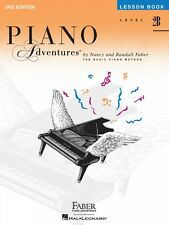 Level 2B Lesson Book 2nd Edition Piano Adventures Faber Piano NEW 000420177