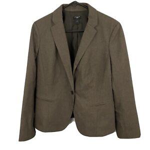 Ann Taylor Petite The Petite Long One-Button Blazer Size 14P
