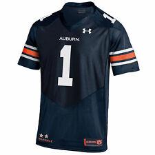 Auburn Tigers Under Armour #1 HeatGear Loose Sideline Replica Football Jersey