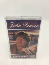 John Denver Cassette Tape White Christmas Music Audio