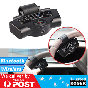 Steering Wheel Bluetooth Handsfree Car Kit A2DP Wireless In-car for Phone
