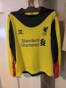 Boys Medium Liverpool Goalkeeper Shirt.