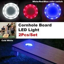 Tailgating Pros Premium 30 LED Cornhole Light Ring Set - 3 Color Options + Multi