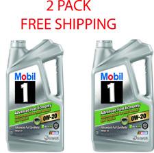 Mobil 1 Advanced Full Synthetic Motor Oil 0W-20 - 5 Quart ****2 PACK*****