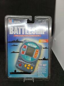 Vintage 1995 Electronic Battleship Game Hand Held Arcade New Sealed Rare