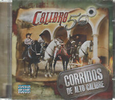 CD - Calibre 50 NEW Corridos De Alto Calibre - FAST SHIPPING !