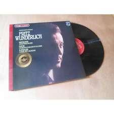 FRITZ WUNDERLICH enregistrements inedis - PHILIPS Lp 1977