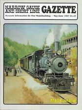 Narrow Gauge Gazette May 97 Porter Texas Redwoods Alamosa Colorado Depot Styrene