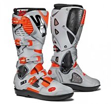 ***FREE SHIPPING***  SIDI CROSSFIRE 3 SRS - SIZE: 10  COLOR: RED FLUO ASH
