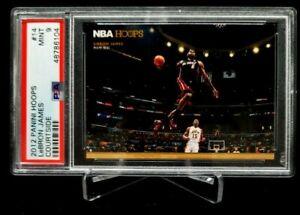 2012 Panini Hoops Lebron James Courtside #14 PSA 9 Heat Cavs Lakers