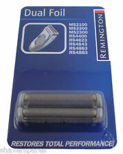 Remington Foil set to fit: MS2391 MS2390 MS2291 MS2300 MS2100 MS2050 - Star buy!