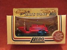 LLEDO  Days-Gone  1934 Dennis  Fire Engine  Red  #12005  Chelmsford  NIB  (8)
