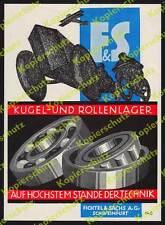 orig Reklame Kleinplakat Fichtel & Sachs Auto Motorrad Flugzeug Schweinfurt 1925