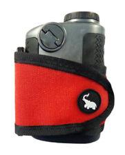 NEW Monument Golf Stick It Universal Magnetic Range Finder Red Strap/Holder
