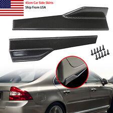 Smart Car Side Skirt Car Side Skirts Car Side Fender Skirt 3D Carbon Fiber