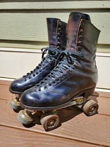 Betty Lytle by Hyde Vintage Roller Skates size 10 Snyder Super Deluxe Plate