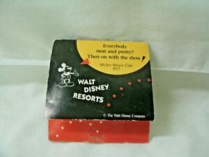 Vintage Advertisng WALT DISNEY RESORTS  Sewing -Travel Kit--Complete