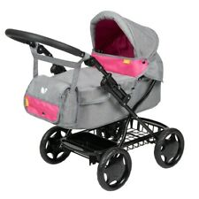 Girls Joie Dolls Junior Pram Stroller Buggy Pushchair Toy Kids doll shoulder bag