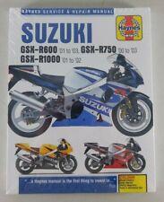 Reparaturanleitung Suzuki GSX R600 Bj. 01-03; GSX R750 Bj.00-03; GSX R1000 01-02