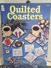 Quilted Coasters PATTERNS Sunbonnet Sue Dresden Plate Christmas Flowers Seasonal