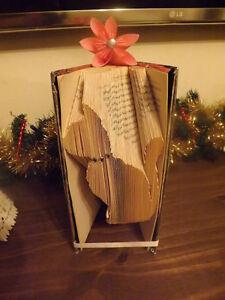 cat Origami book folding art