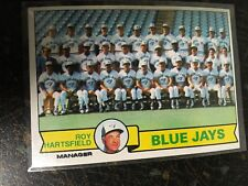 TOPPS BASEBALL 1979 TORONTO BLUE JAYS TEAM CHECKLIST CARD 282 UNMARKED EXCELLENT